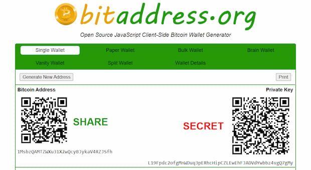 Wie sieht eine Litecoin-Adresse aus?
