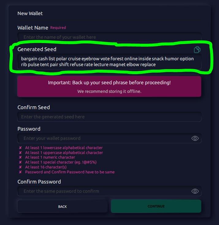 bitcoin wallet vs adresas