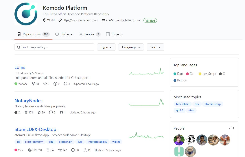 Komodo GitHub