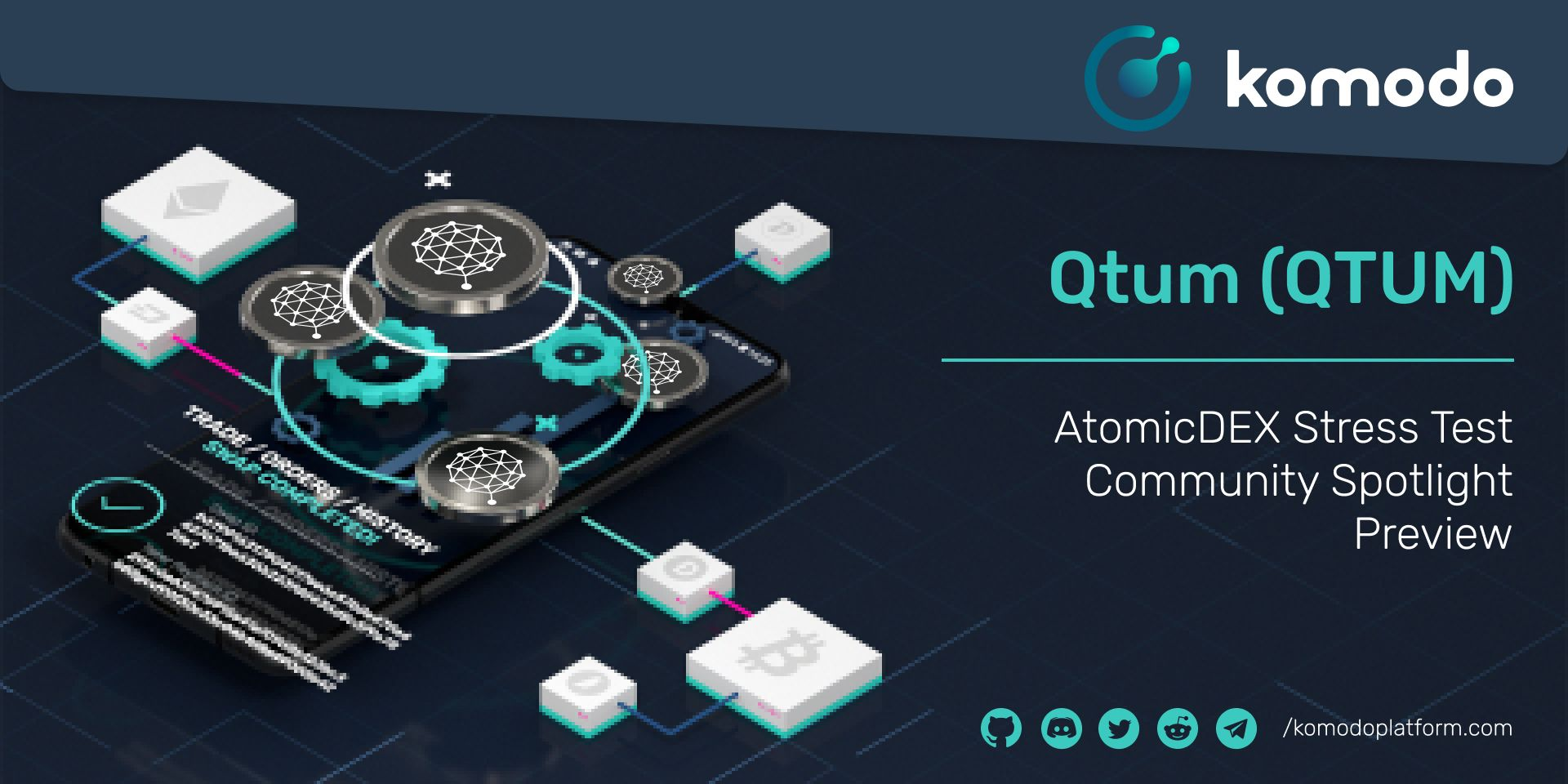 Qtum Community Spotlight - AtomicDEX Stress Test