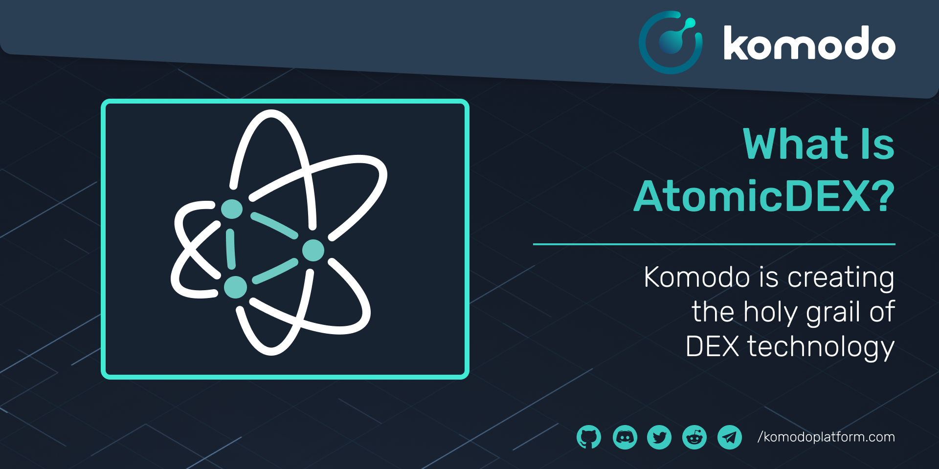 What Is AtomicDEX?