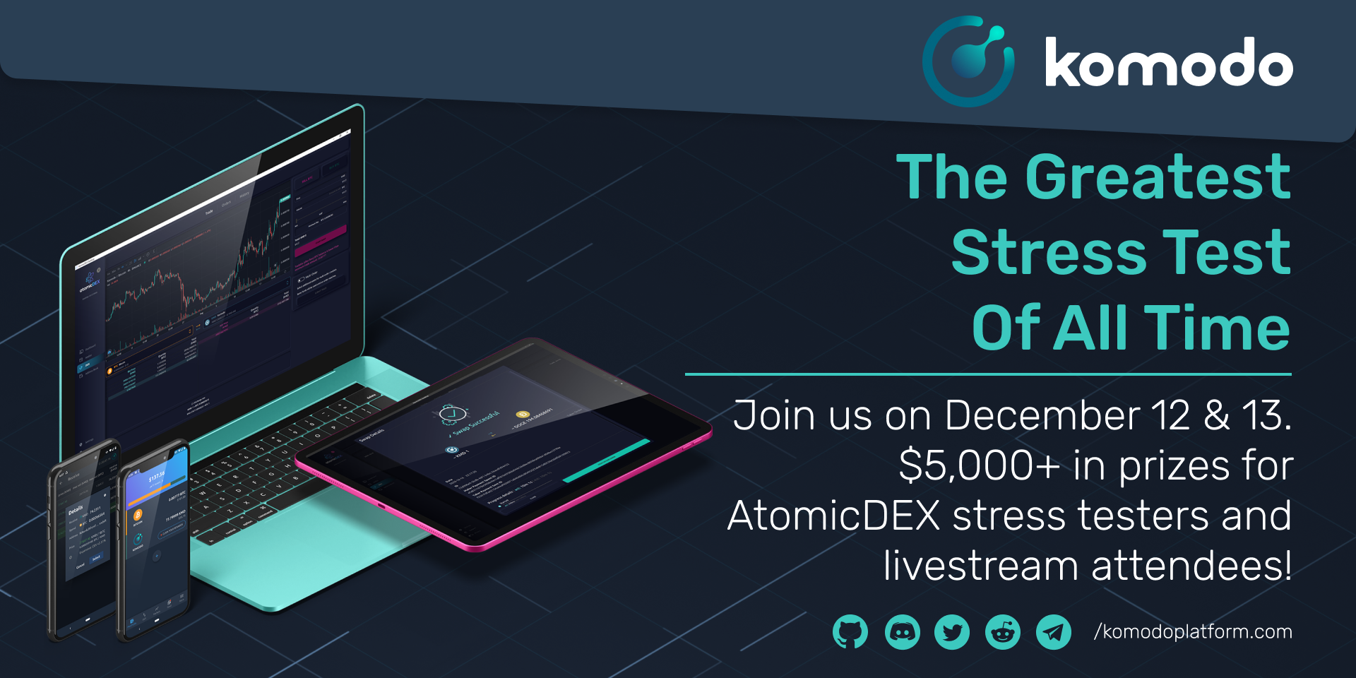 The Greatest Stress Test of All Time For AtomicDEX
