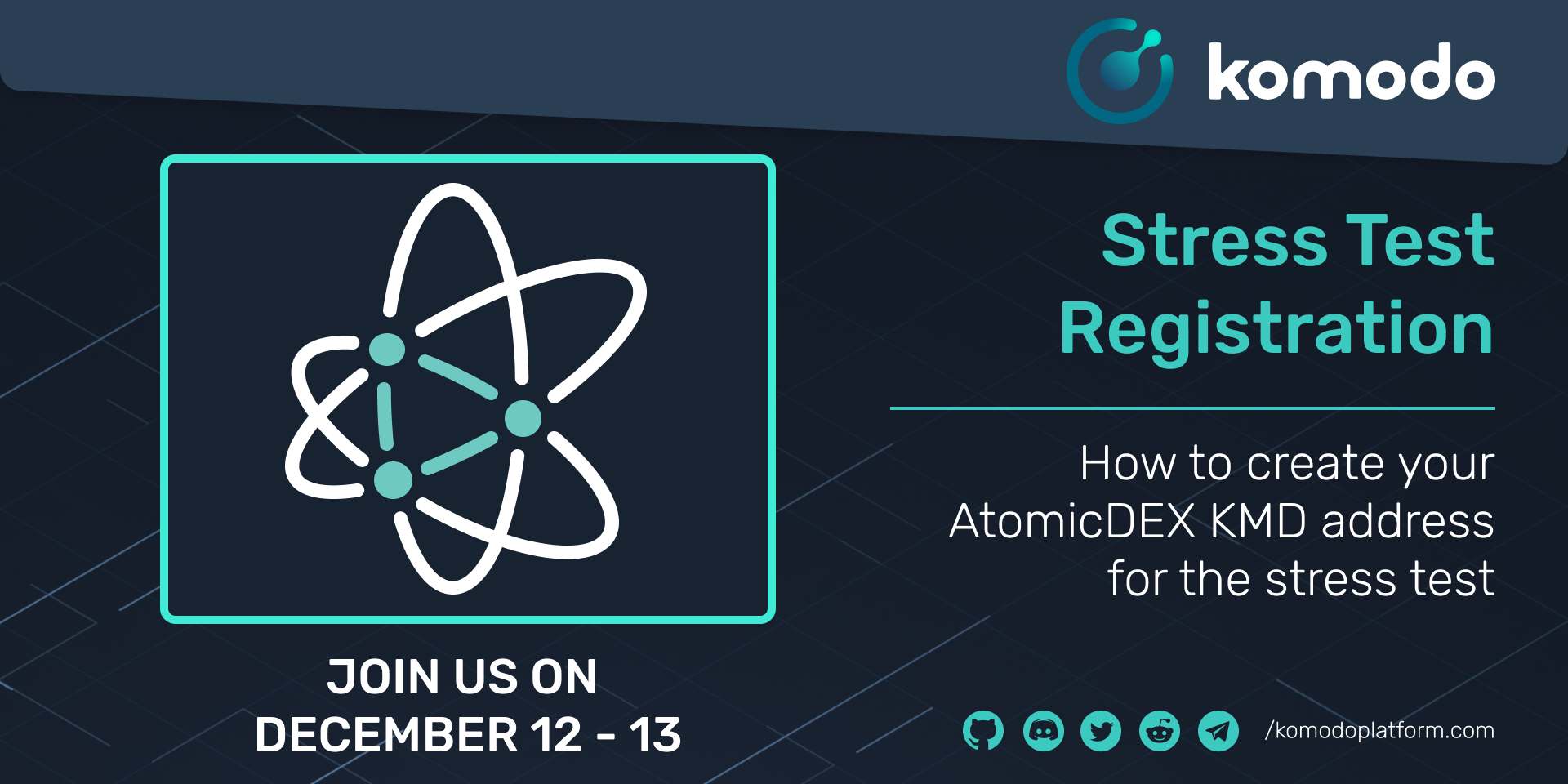 How To Get Your AtomicDEX KMD Address