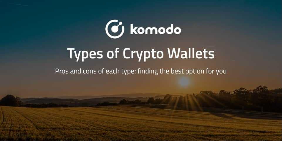 Types of Crypto Wallets - Which One Is Best For Me?