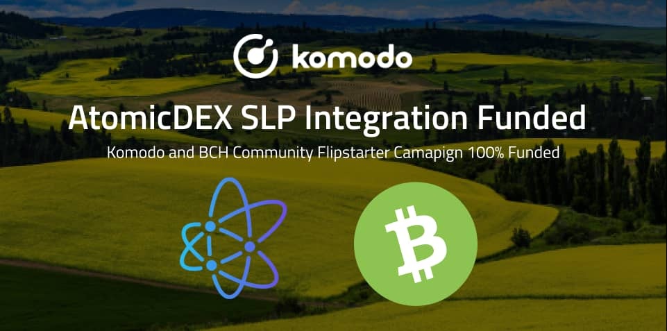 AtomicDEX SLP Integration Is 100% Funded