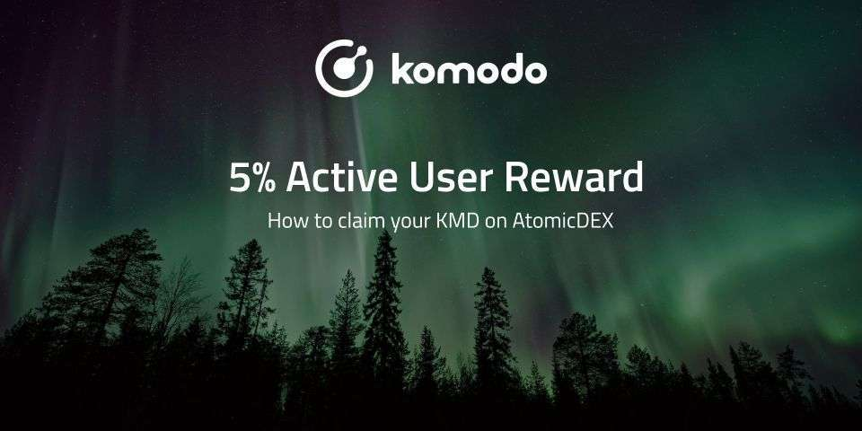Claiming Your KMD 5% Active User Reward On AtomicDEX