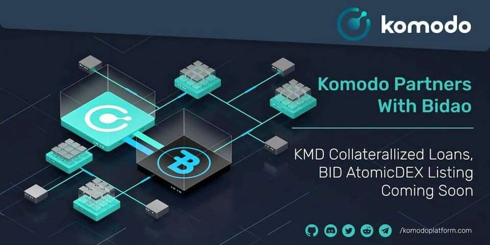 Komodo Expands Interoperability Through an Integration With Bidao for Multi-Chain Benefits