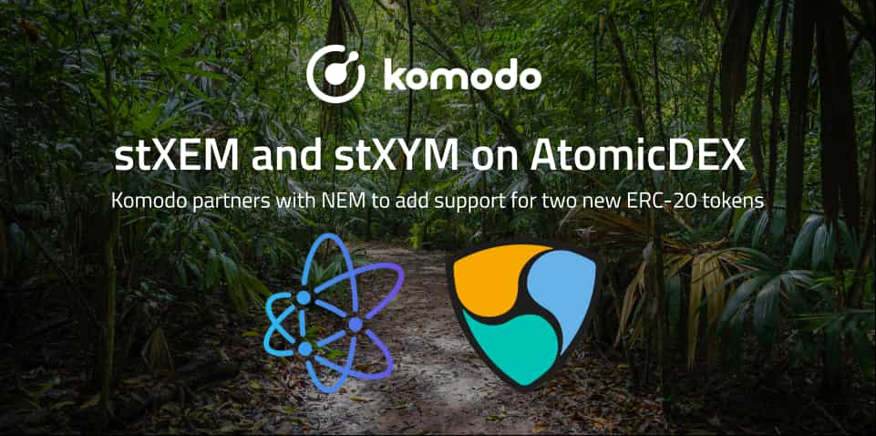 AtomicDEX Partners With NEM To Support stXEM and stXYM