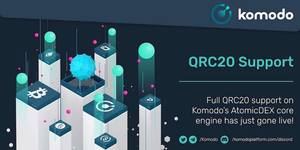 QRC20 Support Now Available On AtomicDEX Core Engine