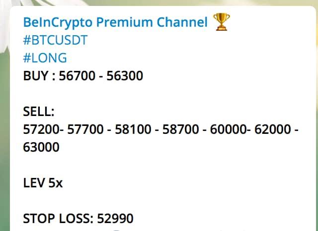 BeInCrypto Premium Channel