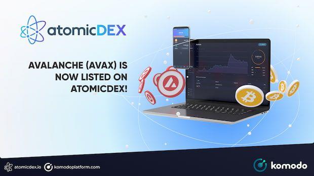 AVAX On AtomicDEX