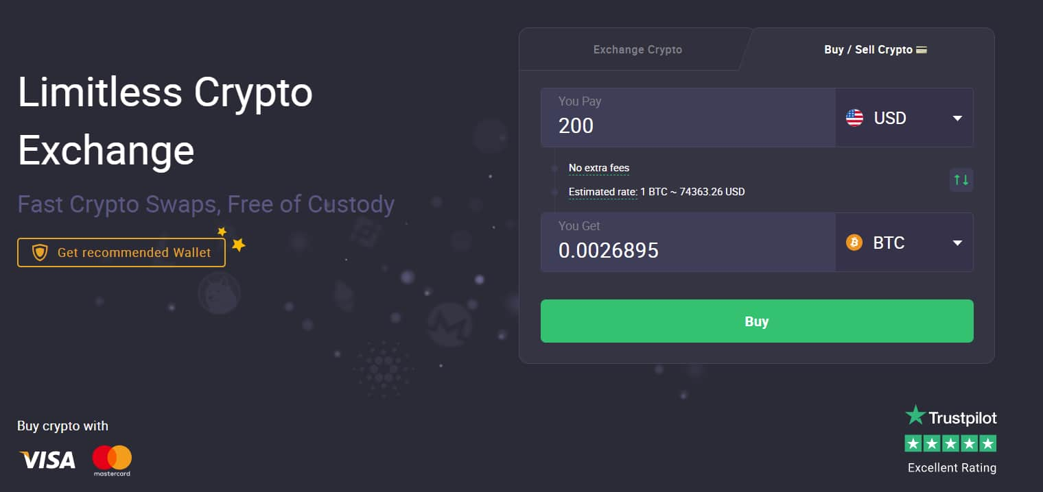 ChangeNOW Instant Exchange