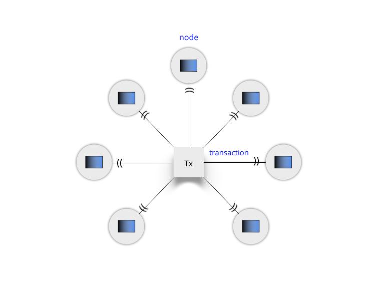 Blockchain transactions and nodes
