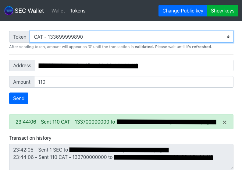 Open Source STO wallet