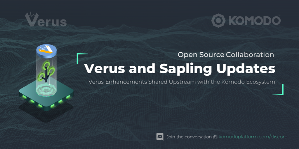 Komodo Sapling Upgrade