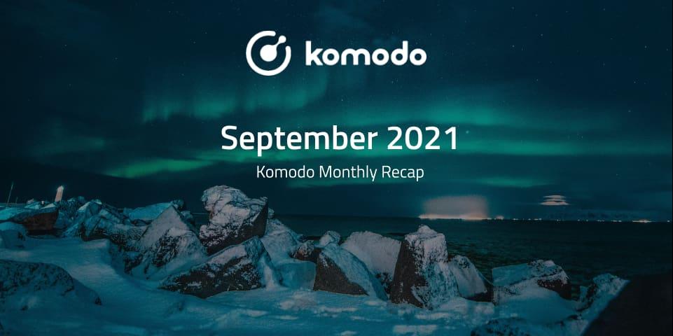 Monthly Recap - September 2021