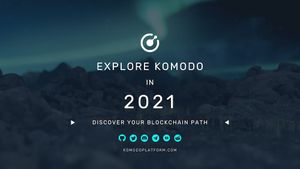 Marketing Roadmap - Explore Komodo during first half of 2021!
