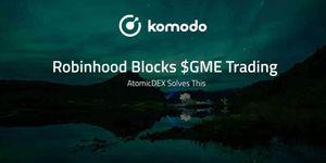 Robinhood Blocks $GME Trading - AtomicDEX Solves This