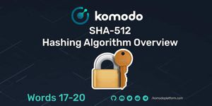 SHA-512 Hashing Algorithm Overview