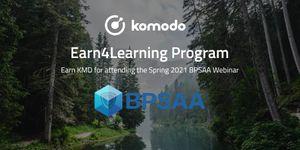 Spring 2021 BPSAA Webinar - Earn4Learning With Komodo