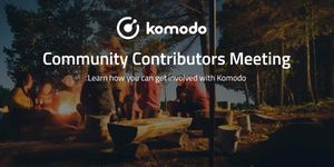 Komodo Community Contributors Interest Meeting