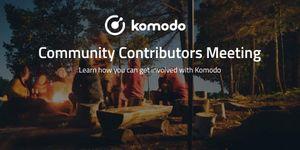 Komodo Community Contributors Interest Meeting