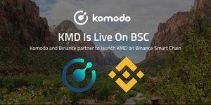 KMD Is Live On Binance Smart Chain ✅