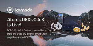 AtomicDEX v0.4.3 (Desktop) Is Live✅